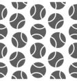 tennis seamless pattern for boy Sports balls on vector image