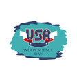 usa independence day colorful vector image