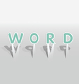 WORD word vector image