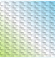 abstract blue and green background vector image vector image