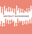 abstract orange rounded lines transition vector image vector image