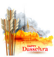 arrow of rama in happy dussehra festival of india