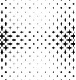 Black white polygon pattern design background vector image vector image