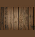brown wooden panels vector image vector image