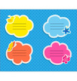 Cute frames collection vector image