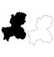 gifu prefecture map vector image
