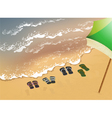 Holiday at the beach vector image vector image
