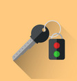 key infographic five colored items vector image vector image