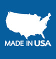 made in the usa vector image vector image