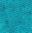 marine grunge seamless pattern vector image vector image