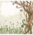 abstract fantasy tree vector image