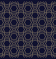 abstract arabic seamless pattern with star vector image