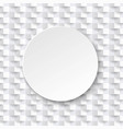 abstract white background white texture with ball vector image vector image