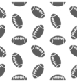 american football seamless pattern for boy Sports vector image vector image