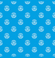 atom energy pattern seamless blue vector image