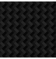 Black geometric rectangle seamless background vector image vector image