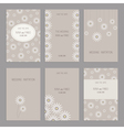 camomile cards vector image