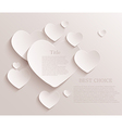 heart background Eps10 vector image