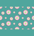 lotus flower pattern seamless in water top view vector image vector image