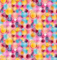Seamless Abstract Bubbles Circle Pattern - vector image vector image