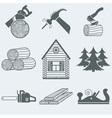 Woodworking vector image