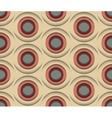 3D Circles Seamless Pattern vector image vector image