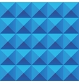 Abstract blue geometric squares seamless pattern vector image