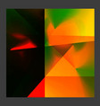 abstract bright geometric background in vector image vector image