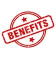 benefits vector image vector image