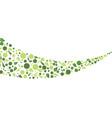 eco nature leaf background vector image