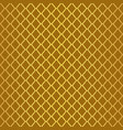 gold luxury moroccan motif tile pattern vector image