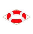 Lifebuoy icon isometric 3d style vector image vector image
