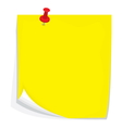 Sticky note3 vector image vector image