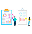 worker magnifier investigate statistics analysis