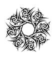 Ancient wreath garland vector image