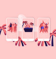 beach party summer holiday event mobile app vector image