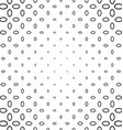 Black and white ellipse ring pattern vector image vector image