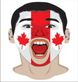 Go Canada resize vector image vector image