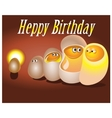 Happy birthday for your vector image