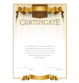 Modern Certificate and diplomas template vector image vector image
