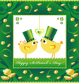 St Patricks Day background or card vector image vector image