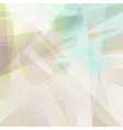 abstract geometric background in pastel colors vector image vector image