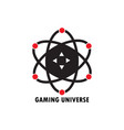 gaming universe vector image