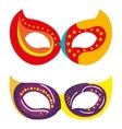 mask carnival celebration icon vector image vector image