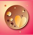 planet pluto vector image vector image