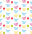 Seamless Pattern with Bunting Party Flags for Your vector image vector image
