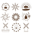 tags bread on white vector image