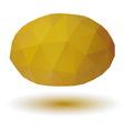 Triangle melon vector image vector image