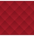 Abstract dark red geometric squares seamless vector image vector image
