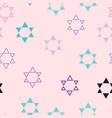 color images of stars of david vector image vector image